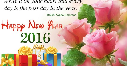 Happy and Prosperous 2016